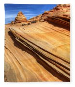 Pages From Natures Story Fleece Blanket