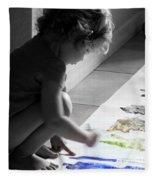Paint Magic Fleece Blanket