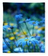 Paint Me Blue Fleece Blanket