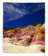 Paint Mines Beauty Fleece Blanket