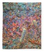 Paint Number 37 Fleece Blanket