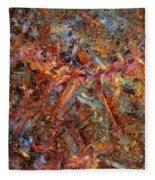 Paint Number 43 Fleece Blanket