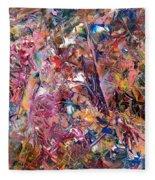Paint Number 49 Fleece Blanket