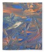 Paint Number 58c Fleece Blanket