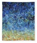 Paint Number 59 Fleece Blanket