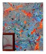 Paint Number Forty Fleece Blanket