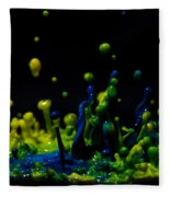 Paint Sculpture 3 Fleece Blanket