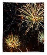 Paint The Sky With Fireworks  Fleece Blanket
