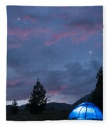 Paint The Sky With Stars Fleece Blanket