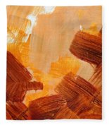 Painted Background Texture Fleece Blanket