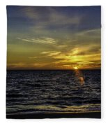 Painted By God Fleece Blanket