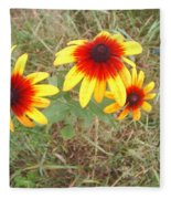 Painted Daisies Fleece Blanket