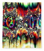 Carnival Dancers Fleece Blanket