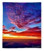 Painted Heavens Fleece Blanket