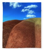 Painted Hills Blue Sky 2 Fleece Blanket