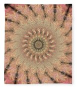 Painted Kaleidoscope 1 Fleece Blanket