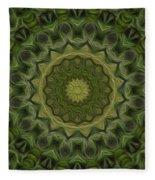 Painted Kaleidoscope 11 Fleece Blanket