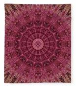 Painted Kaleidoscope 12 Fleece Blanket