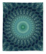 Painted Kaleidoscope 3 Fleece Blanket