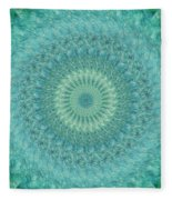 Painted Kaleidoscope 4 Fleece Blanket