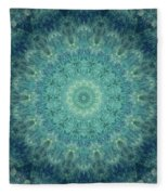 Painted Kaleidoscope 5 Fleece Blanket