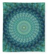 Painted Kaleidoscope 7 Fleece Blanket