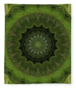 Painted Kaleidoscope 8 Fleece Blanket
