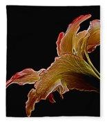 Painted Lily Fleece Blanket