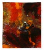 Painted Man Fleece Blanket