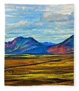 Painted Mountain Fleece Blanket