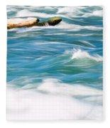 Painted Niagara Fleece Blanket