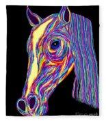 Painted Pony Fleece Blanket