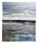 Paint Pots Fleece Blanket