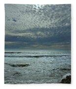 D3a6136-painted Sky Bolinas Ca  Fleece Blanket