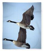 Pair In Flight Fleece Blanket