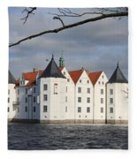 Palace Gluecksburg - Germany Fleece Blanket