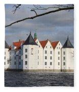 Palace Gluecksburg - Germany Fleece Blanket