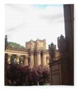 Palace Of Fine Arts 8 Fleece Blanket