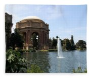 Palace Of Fine Arts And Lagoon Fleece Blanket