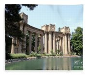 Palace Of Fine Arts Colonnades  Fleece Blanket
