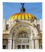 Palacio De Bellas Artes Fleece Blanket