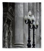 Palacio Del Congreso Argentina Fleece Blanket