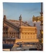 Palais Garnier Fleece Blanket