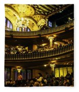 Palau De La Musica  - Barcelona - Spain Fleece Blanket