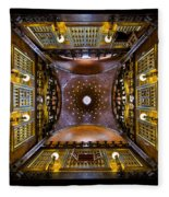 Palau Guell Ceiling Fleece Blanket
