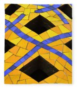 Palau Guell Chimney Fleece Blanket