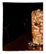Palaver Corks Fleece Blanket