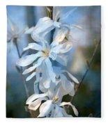 Pale Blue Fleece Blanket