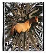 Pale Horse Fleece Blanket