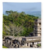 Palenque Palace Fleece Blanket